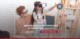 Máster universitario en metodologías docentes