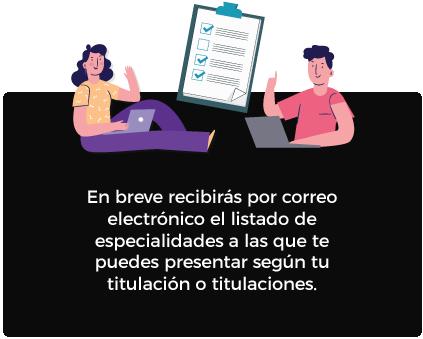 Imagen Especialidades y Titulaciones