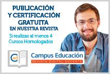 Publicación y Certificación Gratuita en Campus Educación Revista Digital Docente