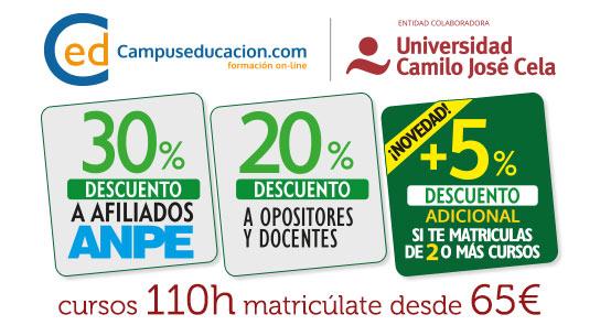 Profesores Y Cursos Oposiciones Homologados Anpe Maestros KFc1Jl3T