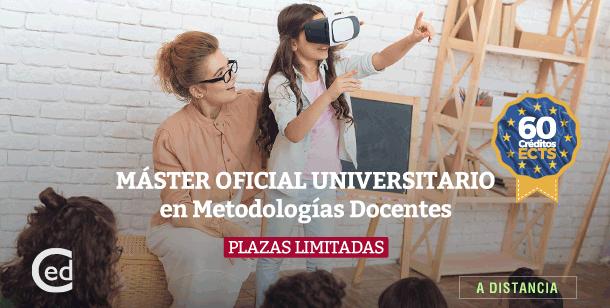 Master Oficial Universitario Metodologías Docentes
