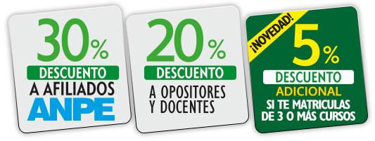 Descuentos de Campuseducacion.com