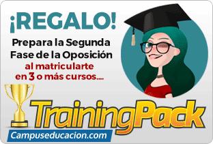 Regalo de Programa de Entrenamiento Online para la preparación de la segunda fase de las oposiciones